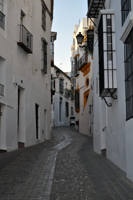 Andalusia Arcos de la Frontera early morning