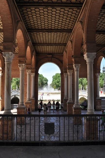 Plaza d'Espagna in Seville
