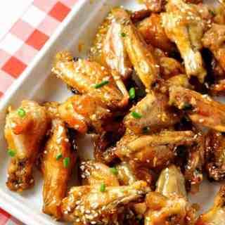 Honey Lime Garlic Wings