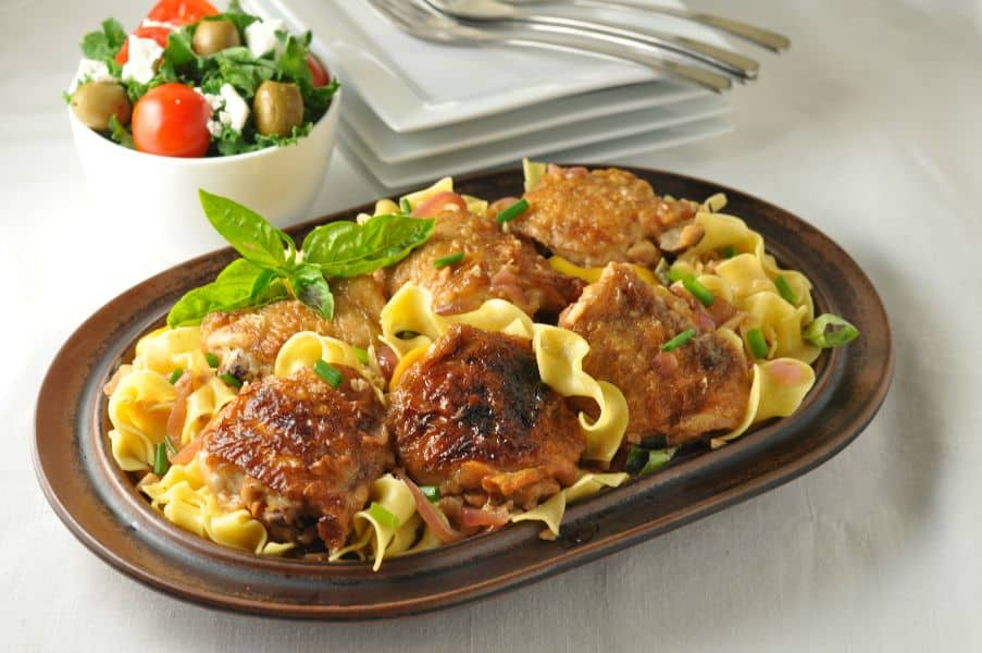 Lemon garlic chicken with pasta flavour and savour lemon garlic chicken with pasta easy family dinner with ingredients you already have in your forumfinder Choice Image