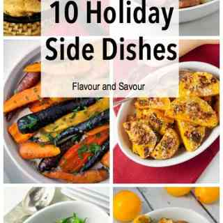 10 Healthy Holiday Side Dishes |www.flavourandsavour.com