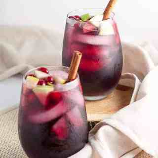 Cranberry Apple Cider Sangria