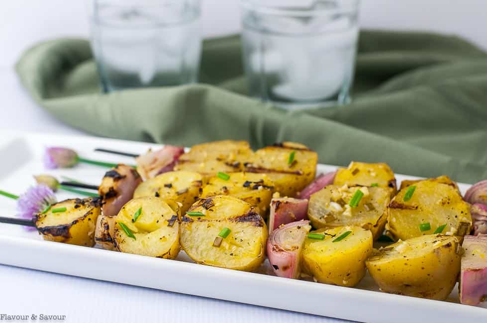 how to cook potato kabobs on grill