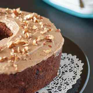 Paleo Carrot Cake with Maple Pecan Glaze. Original recipe from Detoxinista. Fabulous!