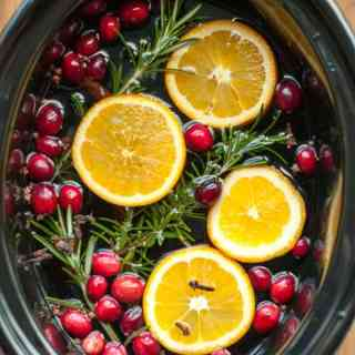 Make your home smell like Christmas with this easy recipe for simmering potpourri. For stove-top or slow cooker. Makes a great gift.