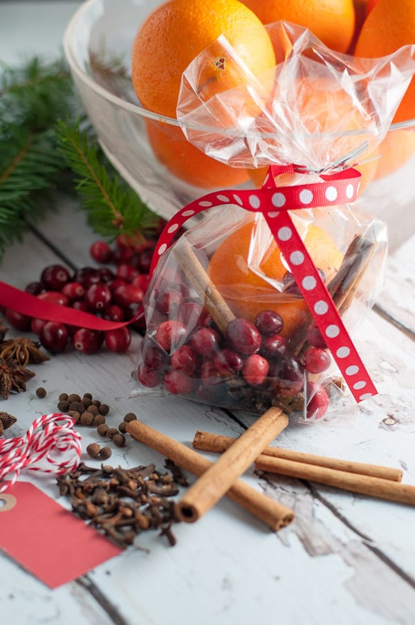 Holiday Simmering Slow Cooker Potpourri. Perfect for holiday gift giving. Makes your home smell like Christmas!