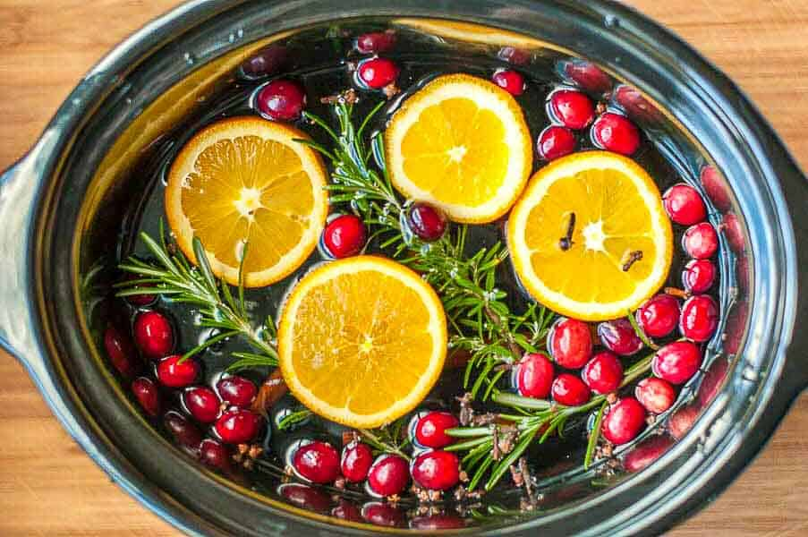 Make your own simmering holiday potpourri. Makes your home smell like Christmas! Easy to make as gifts, too.