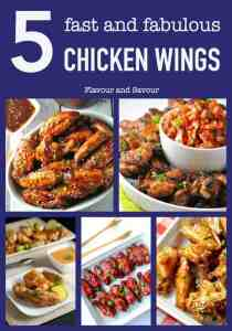 Five Fast and Fabulous Wings for the Win!. Favourite PALEO chicken wing recipes, including Chipotle Honey Mustard Wings, Taco Chicken Wings, Spicy Thai Wings, Cranberry Chili Glazed Wings and Honey Garlic Lime Wings.