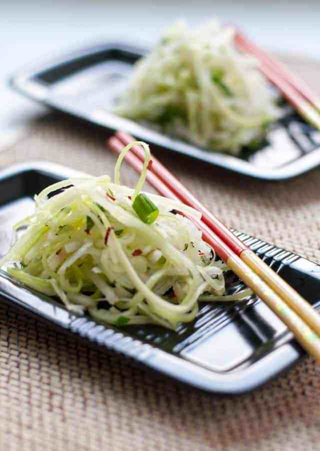 Asian Pear Slaw with Ginger and Lime