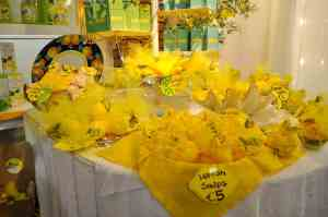Lemon items for sale in Positano, Italy www.flavourandsavour.com