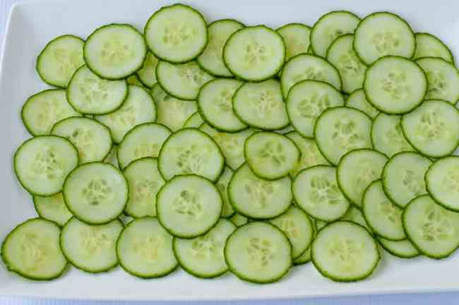 Melon Cucumber Salad with Greek Yogurt Dill Dressing