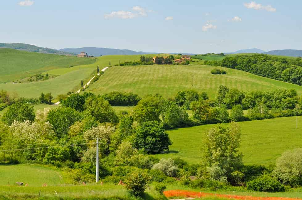 Traveling in Tuscany