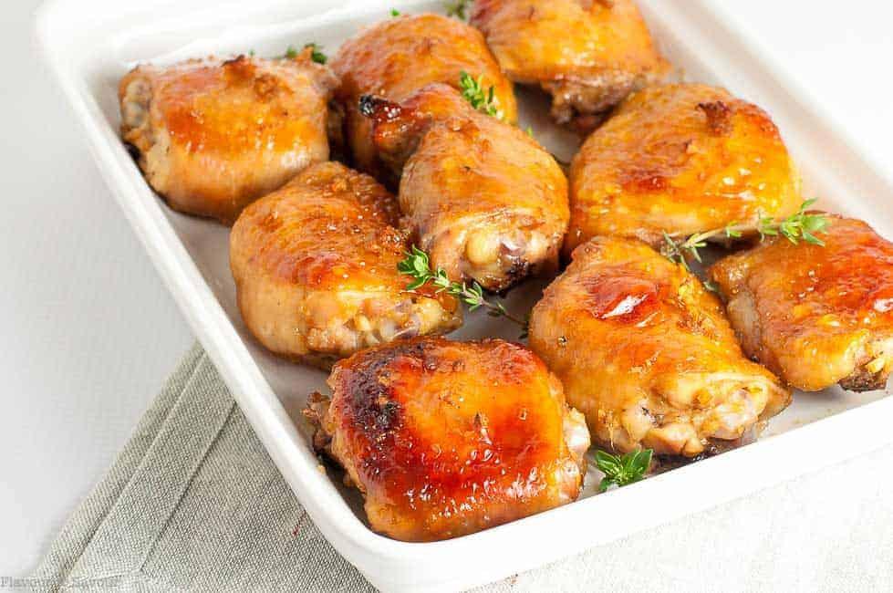 Maple Garlic Glazed Chicken