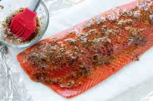 Glazing Honey-Dijon Glazed Salmon
