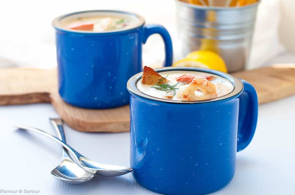 how to make prize winning seafood chowder flavour and savour