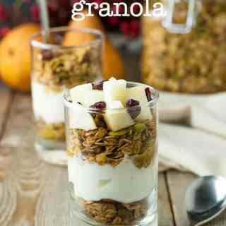 30-Minute Gingerbread Spiced Granola