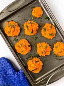 Make-Ahead Duchess Sweet Potatoes