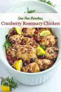 Title for Cranberry Rosemary Chicken