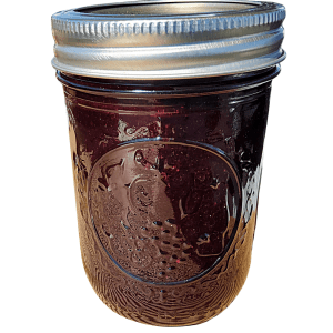 Blueberry lime jelly handcrafted with high quality, fresh ingredients from Flavour in a Jar.