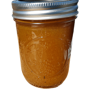 Pear maple curry jam made with locally grown, fresh produce from Flavour in a Jar.