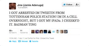 JME Tweet