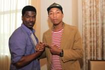 Glenn Lewis & Pharrell - BET Experience