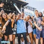fans at Wireless