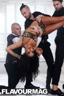 """Tulisa Contostavlos, filims new music video """"Living without you"""", 15th October 2014"""