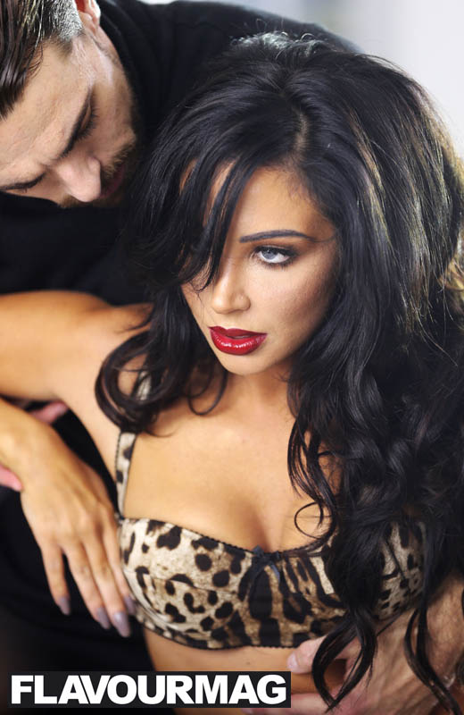 "Tulisa Contostavlos, filims new music video ""Living without you"", 15th October 2014"