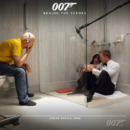 Bond 24 behind the scenes timeline photos 11