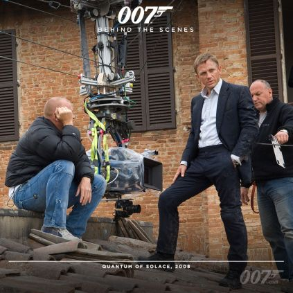 Bond 24 behind the scenes timeline photos 6
