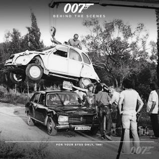 Bond 24 behind the scenes timeline photos 9