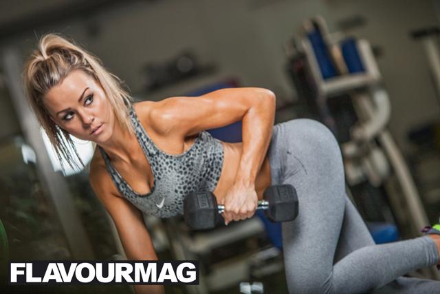 Chelsea Dyson fitness model 12