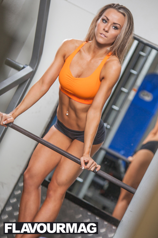 Chelsea Dyson fitness model 8