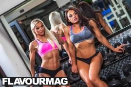Emma Wray fitness model flavourmag 11