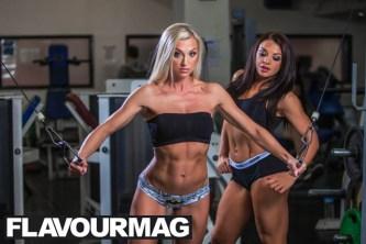 Emma Wray fitness model flavourmag 5