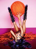azealia banks poses nude for playboy 5