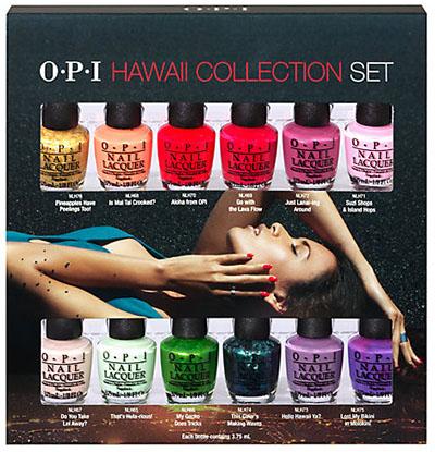 opi hawaii collection mini nail polish set