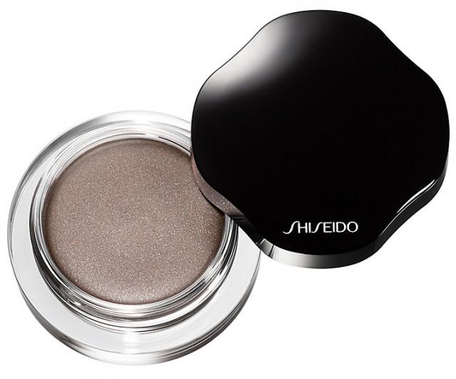 shieseido shimmering cream eyeshadow silver grey