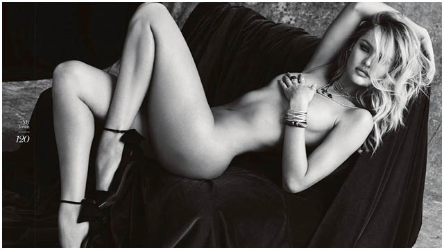 Candice Swanepoel Poses Nude