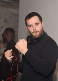 LONDON, ENGLAND - OCTOBER 15: Mike Skinner at smart Disturbs London, a collaboration event by smart & Disturbing London, in Shoreditch last night at Shoreditch Studios on October 15, 2015 in London, England. (Photo by David M. Benett/Dave Benett/Getty Images for smart and Disturbing London) *** Local Caption *** Mike Skinner