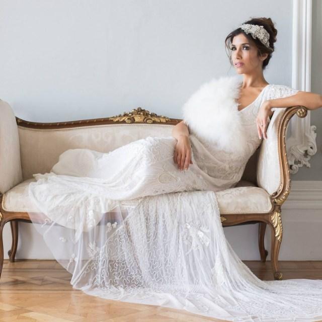 White Mischief Wedding Dress shoot
