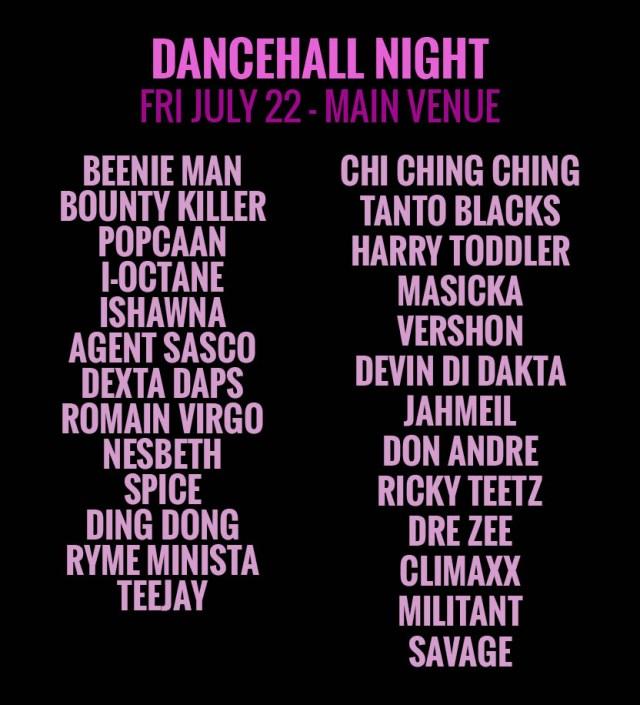 reggae sumfest 2016 dancehall night