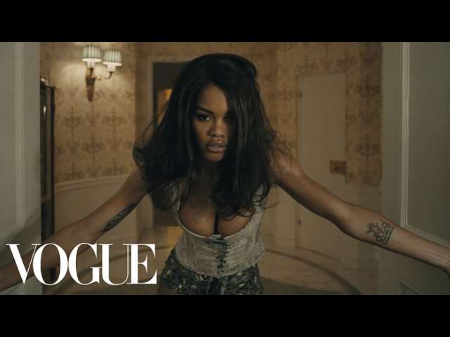 Teyana Taylor fade 2 fit promo video via Vogue