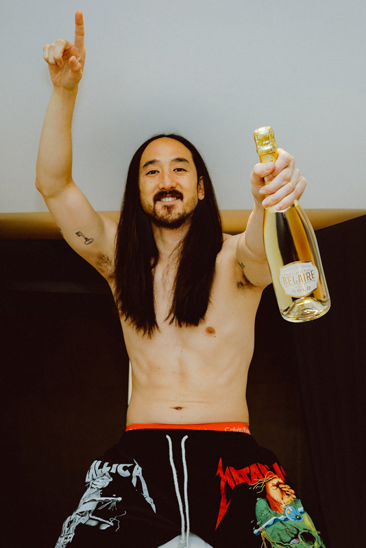 Luc Belaire Enlists Grammy-Nominated DJ Steve Aoki as the Official Brand Ambassador 1