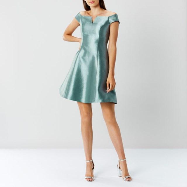 Coast whats new - Amelle Green Dress