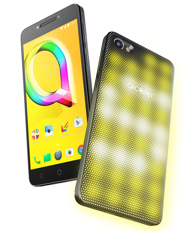 Alcatel A5 LED snapchat
