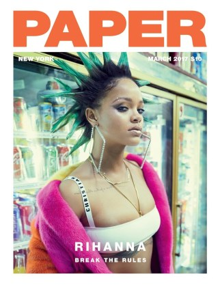 Rihanna! the Superstar Graces Our March 'Break the Rules' Cover