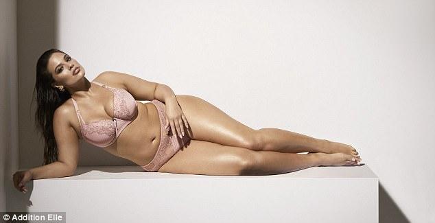 ashley graham addition elle lingerie 2018 - 7