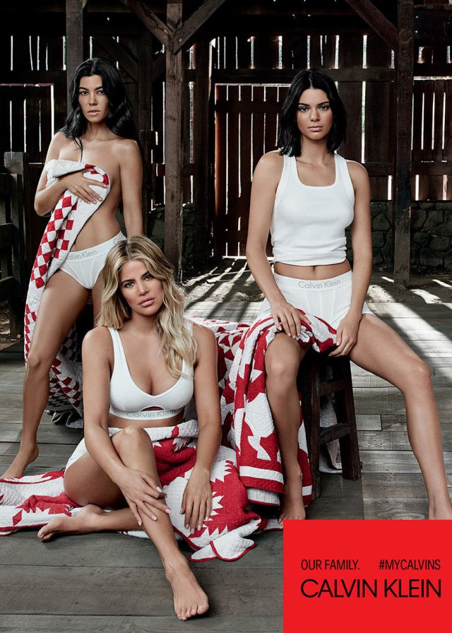 my calvins - Kourtney, Khloe, and Kendal